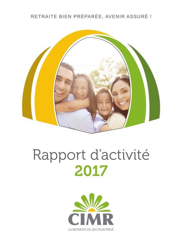 Rapport d'activité annuel 2017