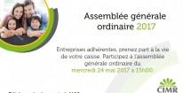Assemblée Générale Ordinaire 2017