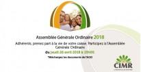 Assemblée Générale Ordinaire 2018